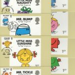 Mr Men & Little Miss Stamp Cards