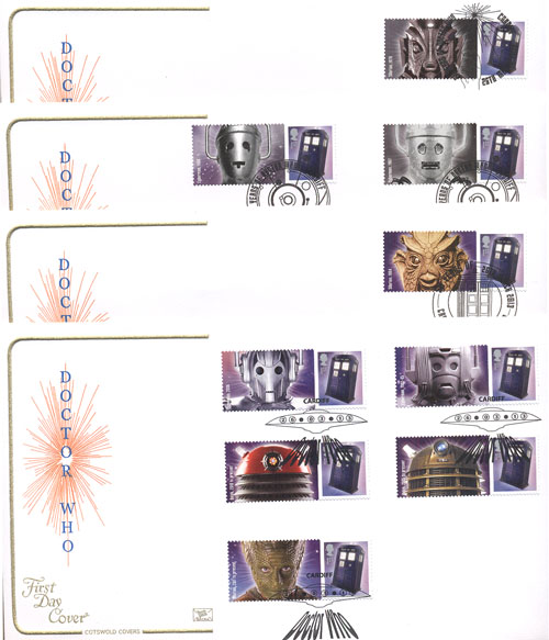 Dr Who Smiler Sheets