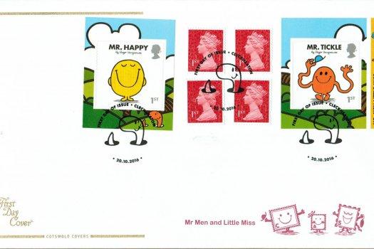 Mr Men & Little Miss Cotswold Retail Booklet FDC