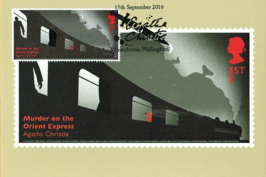 Agatha Christie FDC Stamp Cards