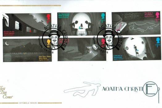 Agatha Christie Cotswold FDC