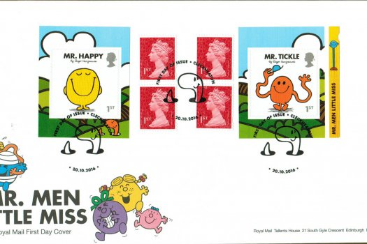 Mr Men & Little Miss Royal Mail Retail Booklet FDC
