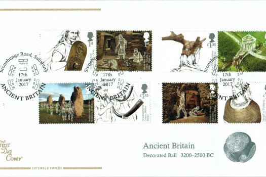 Ancient Britain Cotswold FDC