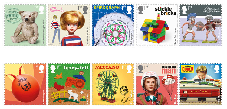 Hornby toys honoured with Royal Mail stamp issue