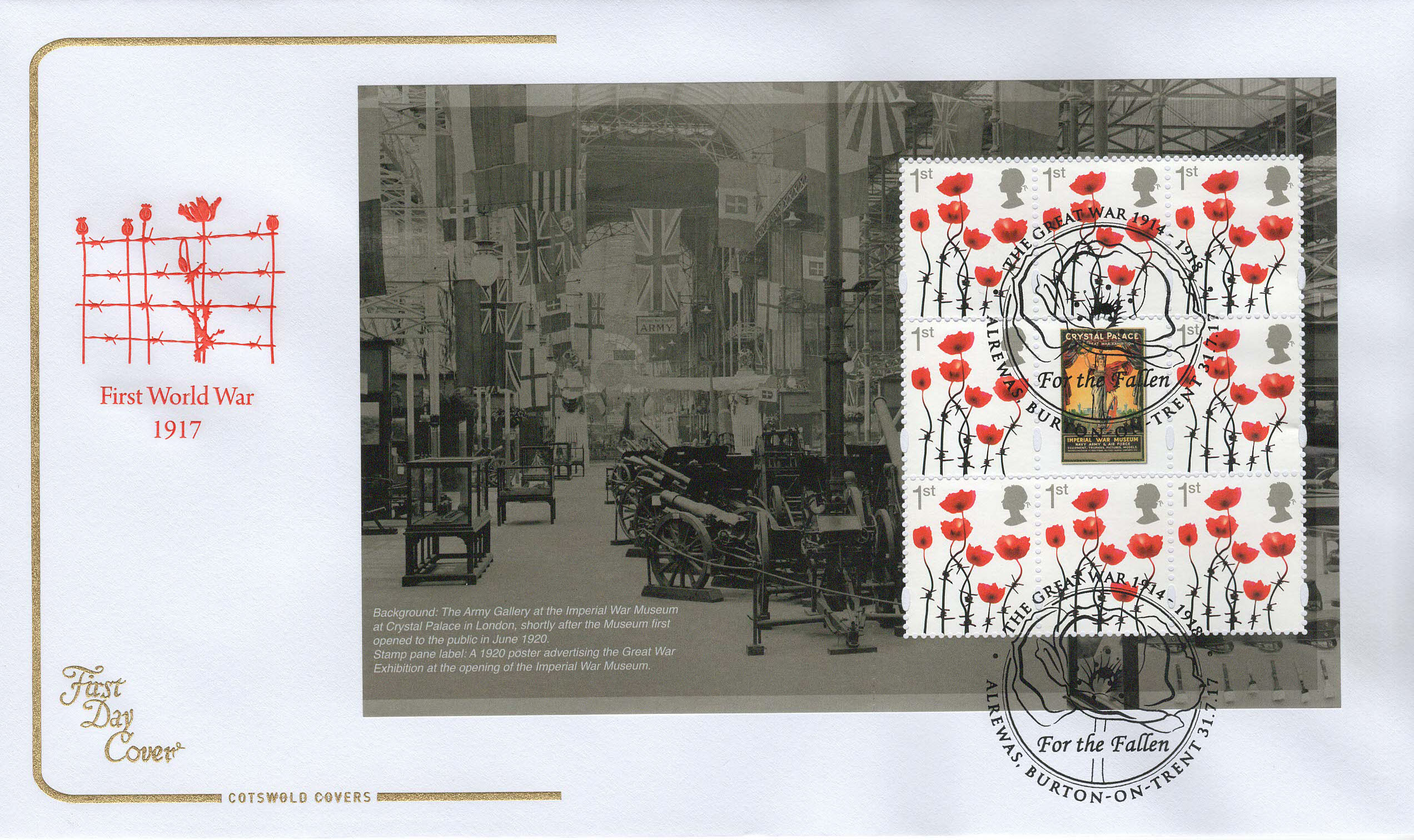 Cots-1st-WW-1917-Panes-2-4-from-PSB-FDC-July-2017-1