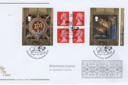 Cots-Windsor-Castle-Retail-booklet-FDC-Feb-2017.