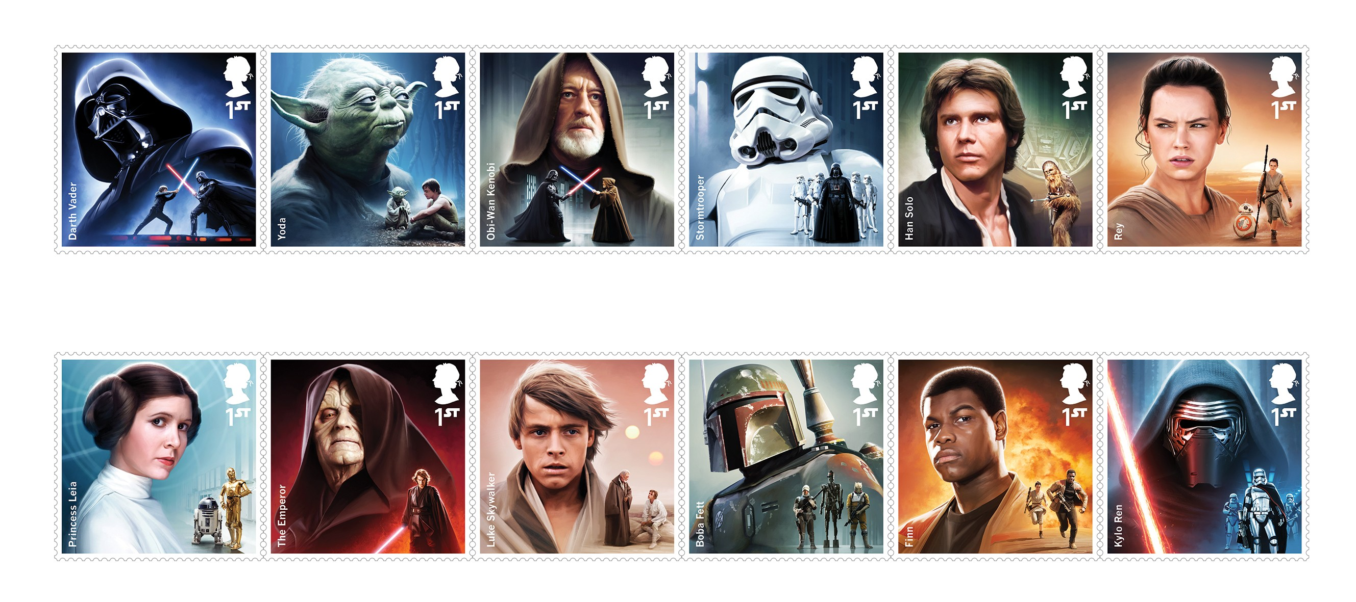 New Star Wars Issue Coming 12th October 2017 First Day Covers