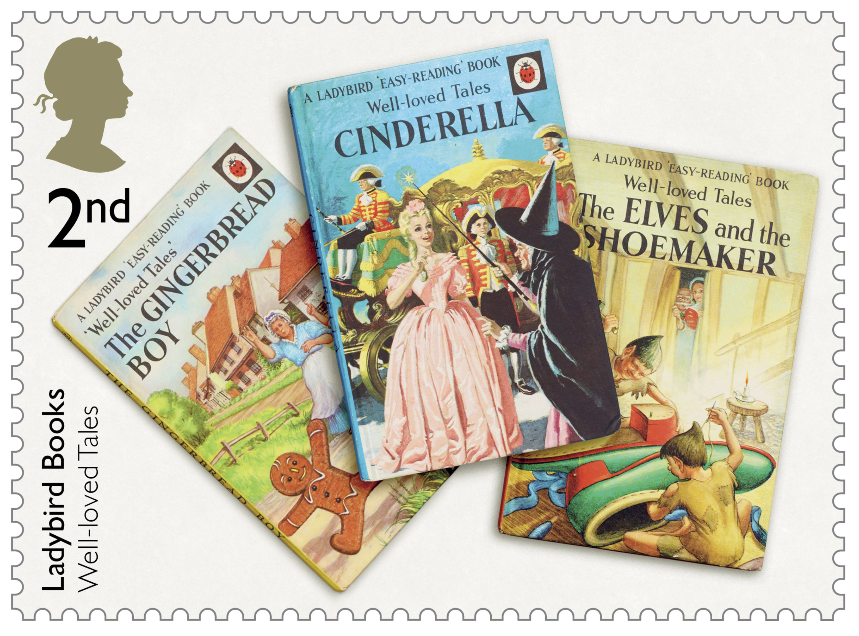 Nostalgic Ladybird Books recognised on stamps