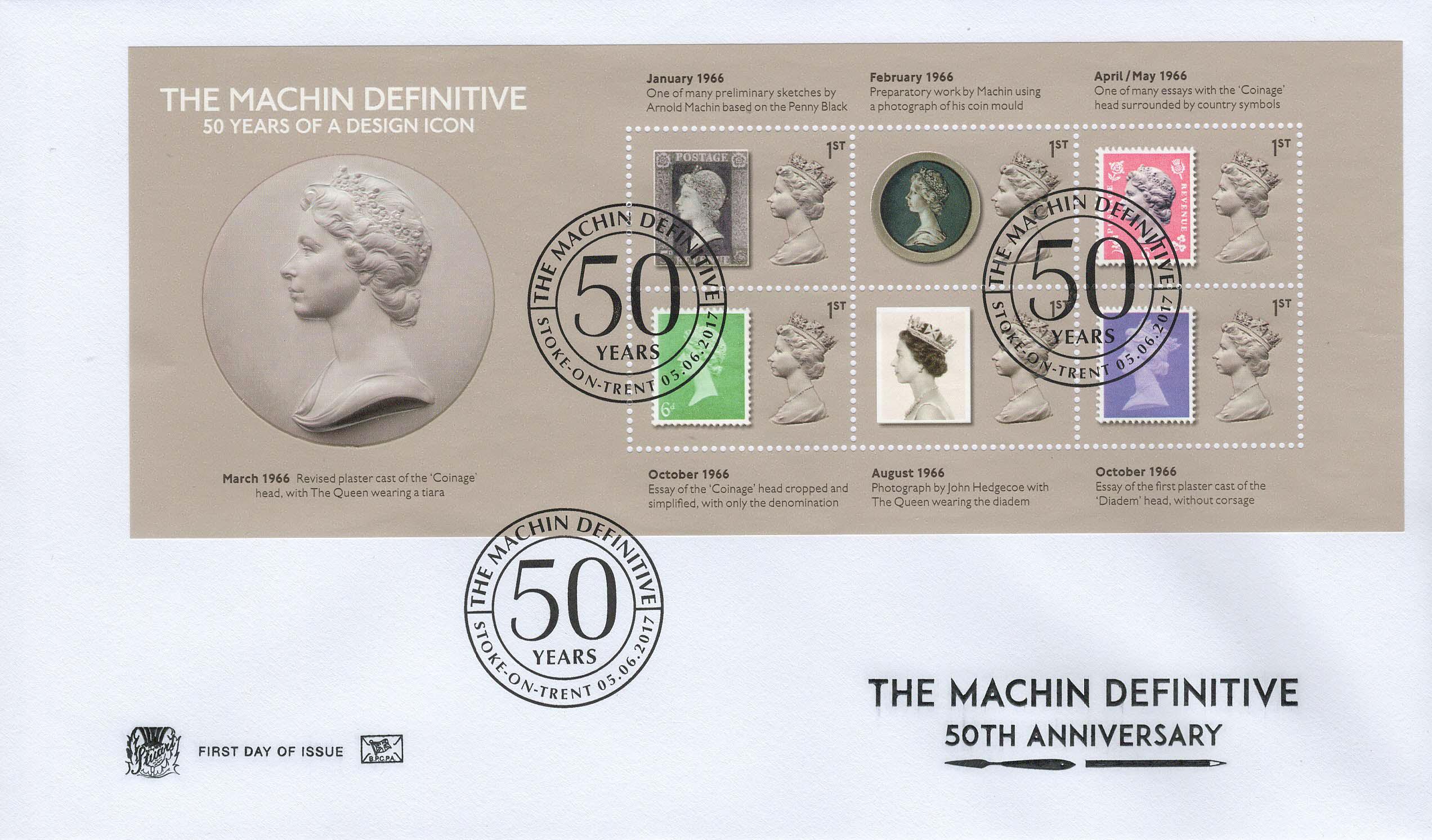 Stuart-Machin-50yrs-Design-Icon-Minisheet-FDC-June-2017.
