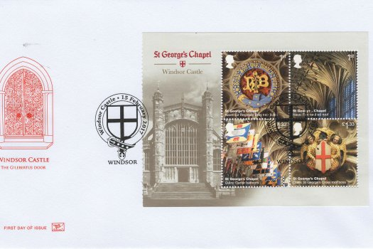 Stuart-Windsor-Castle-Minisheet-FDC-Feb-2017
