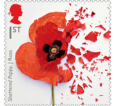 first-world-war-1917-stamp-gallery-shattered-poppy-378x350