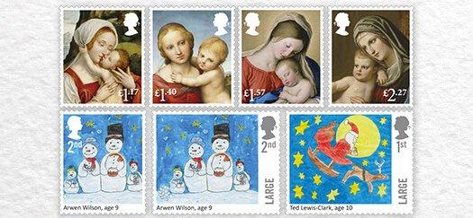 Christmas Stamps 2017