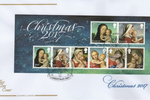 Cots-Christmas-2017-Minisheet-FDC.j