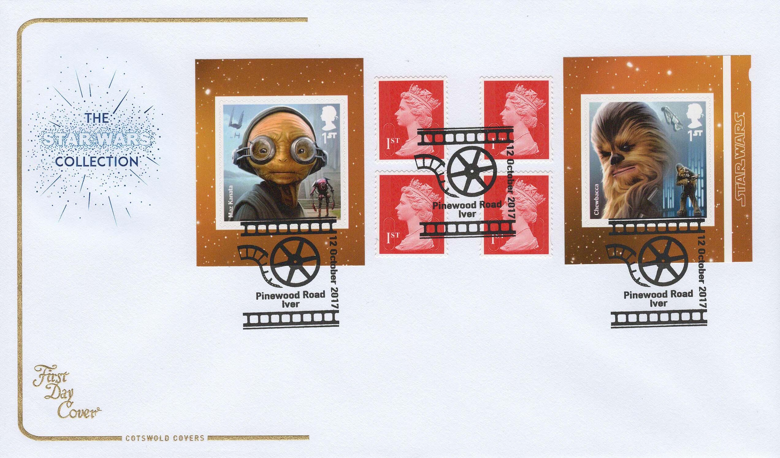 Star Wars Droids & Aliens | Cotswold Aliens Retail Booklet FDC