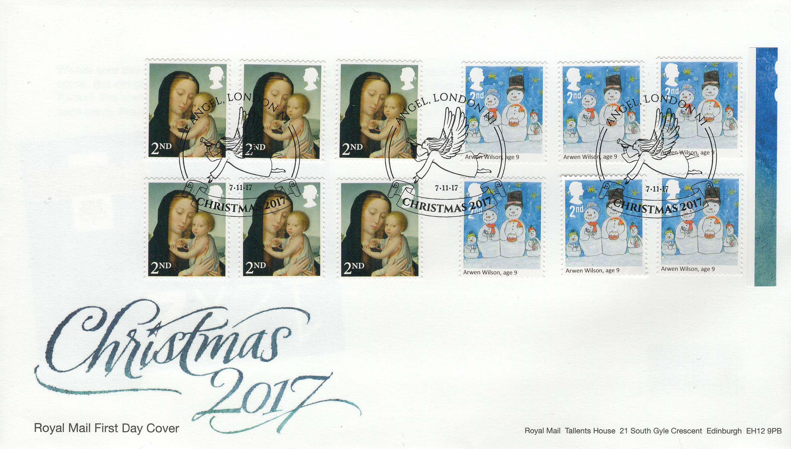Royal-Mail-Christmas-2017-2nd-Retail-Booklet-FDC