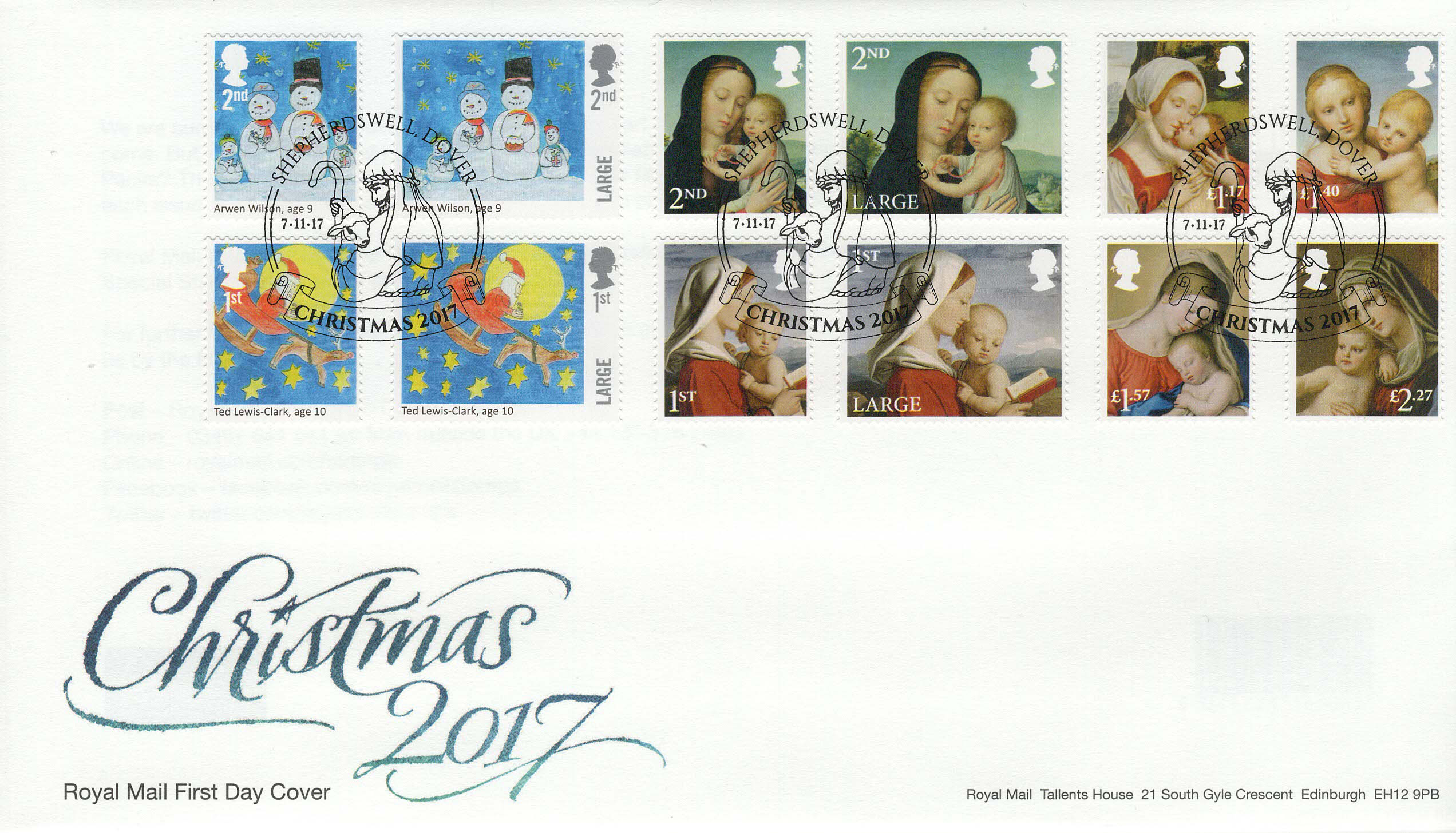 Royal-Mail-Christmas-2017-FDC