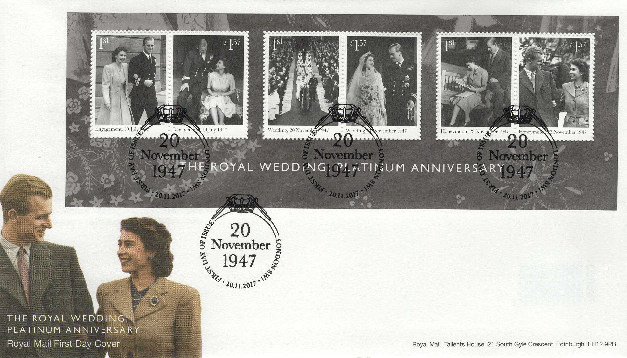 Royal-Mail-Platinum-Anniversary-FDC