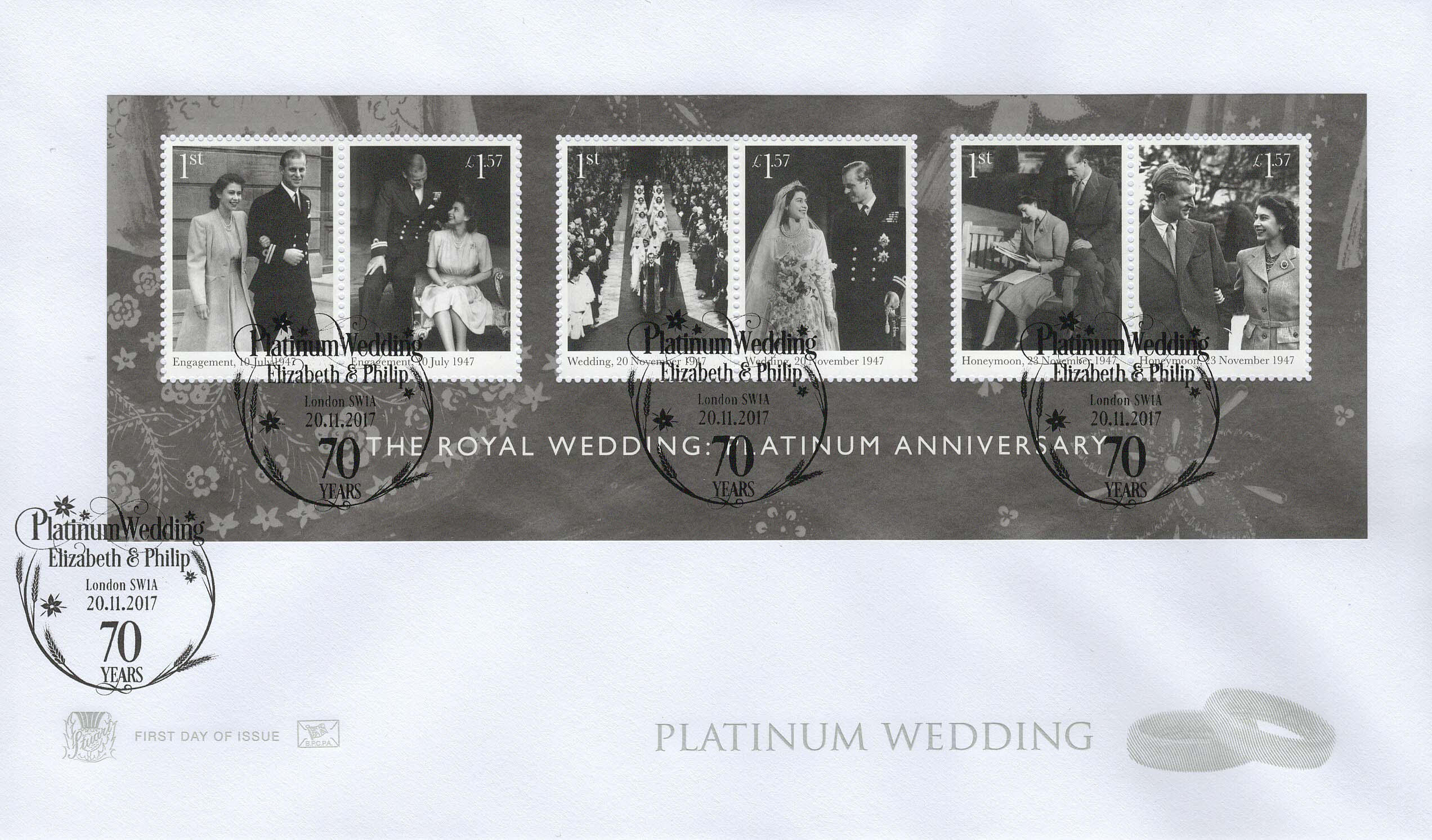 Stuart-Platinum-Anniversary-FDC