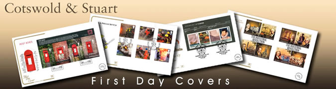 cotswold stuart first day covers banner