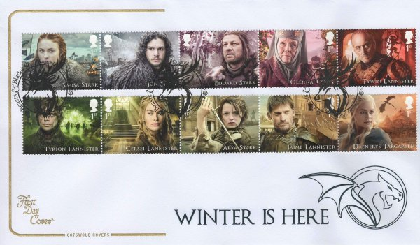 Cotswold Game of Thrones FDC