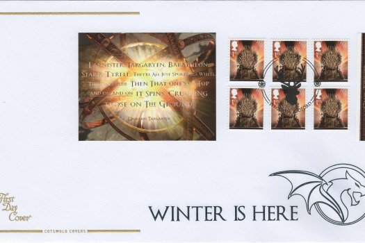 Cotswold Game of Thrones Retail Booklet FDC