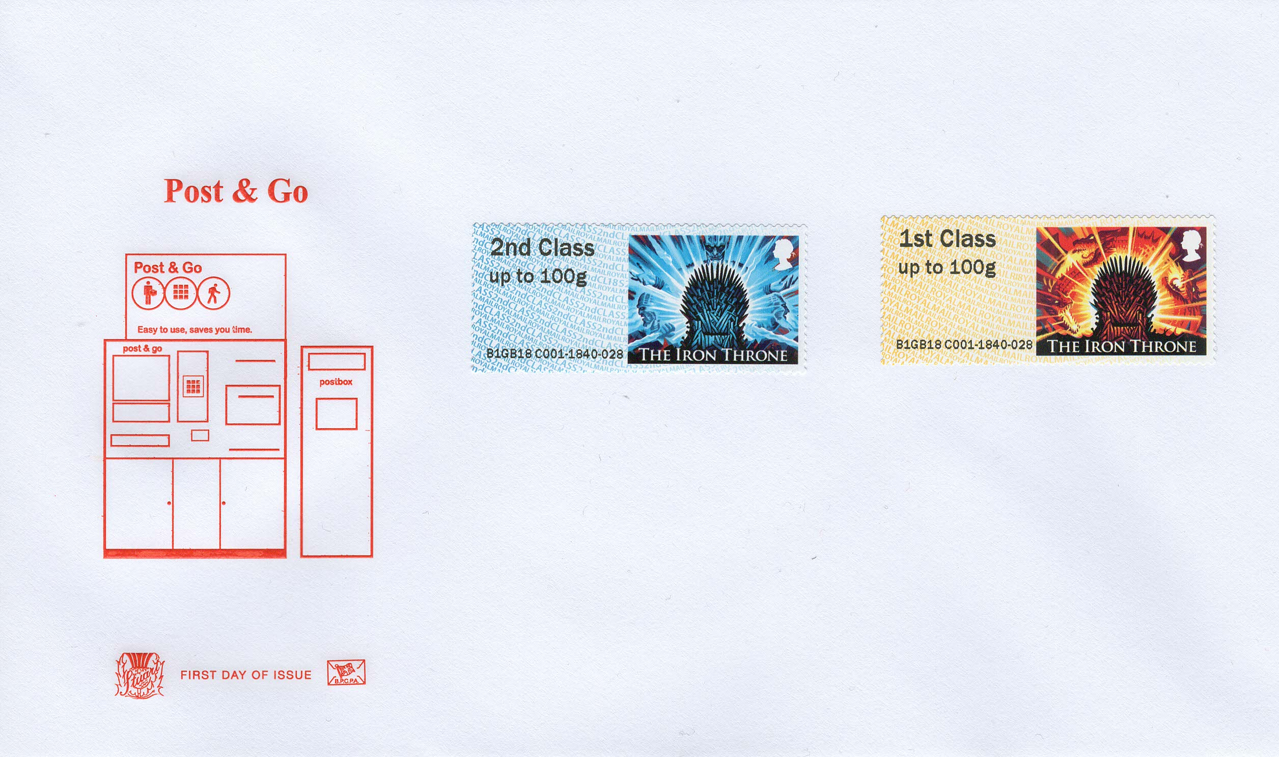 Game of Thrones Post & Go FDC