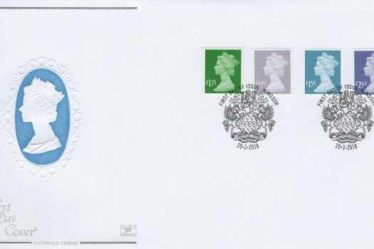 Cotswold National Definitive FDC