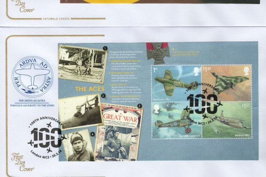 Cotswold RAF PSB FDC image 1