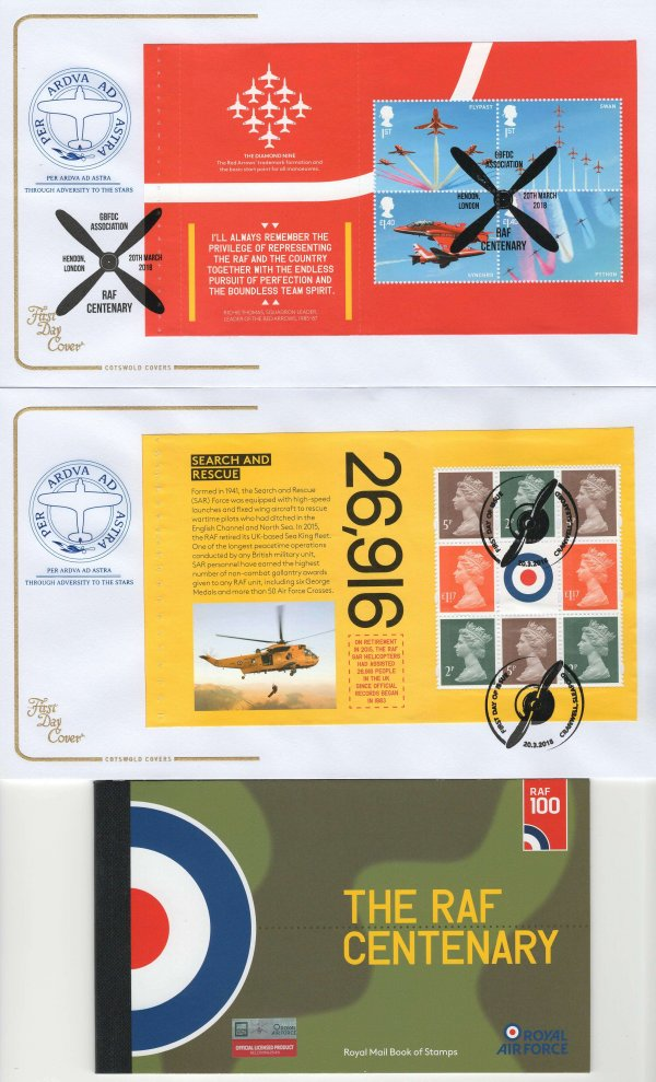 Cotswold RAF PSB FDC image 2
