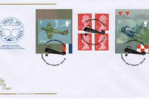 Cotswold RAF Retail Booklet FDC