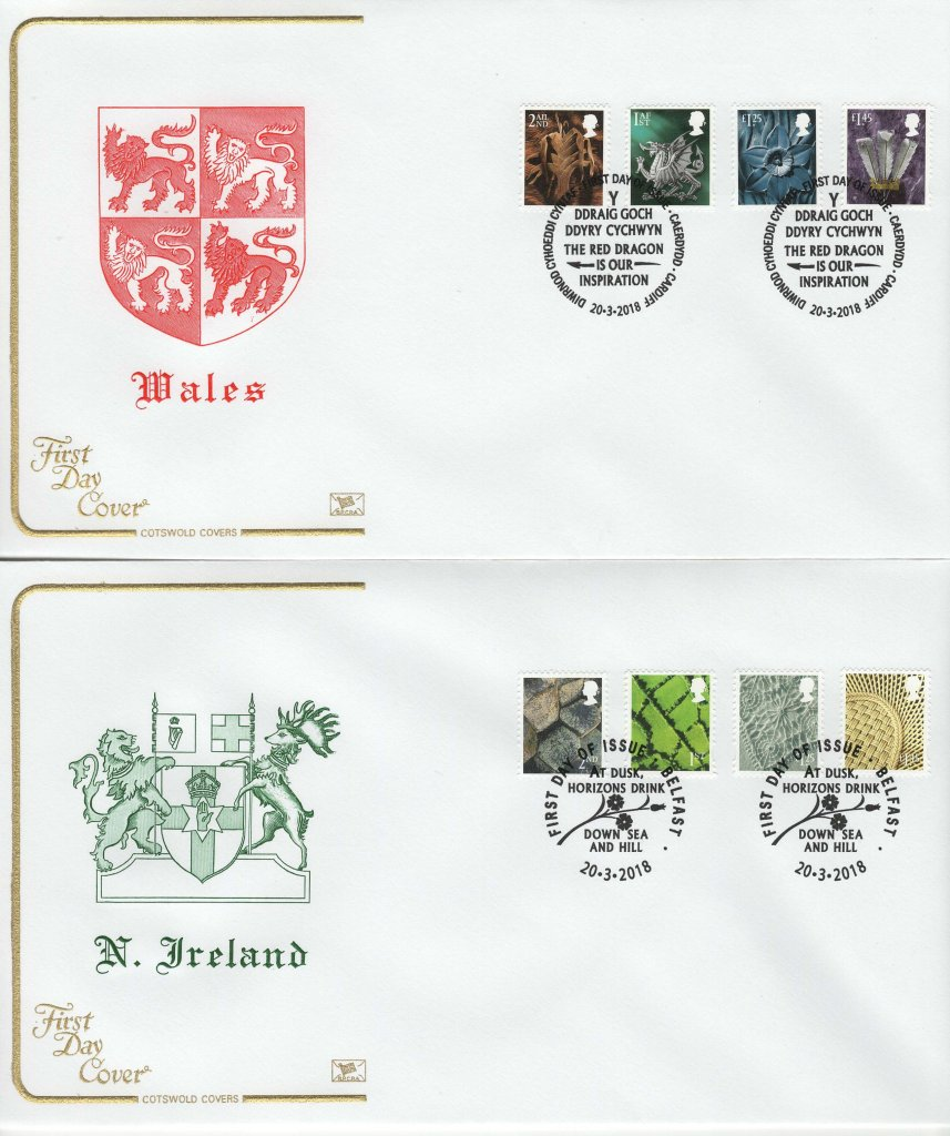 Cotswold Regional Definitive (Wales & N. Ireland) FDC