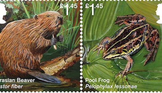 Reintroduced Species Stamps