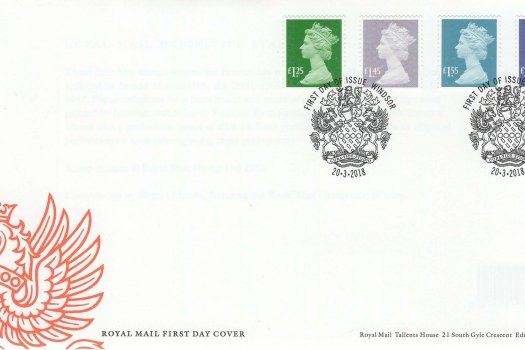 Royal Mail National Definitive FDC