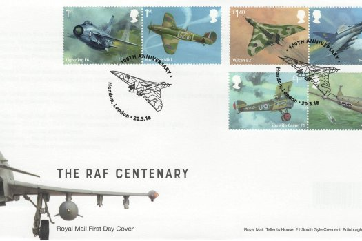 Royal Mail RAF FDC