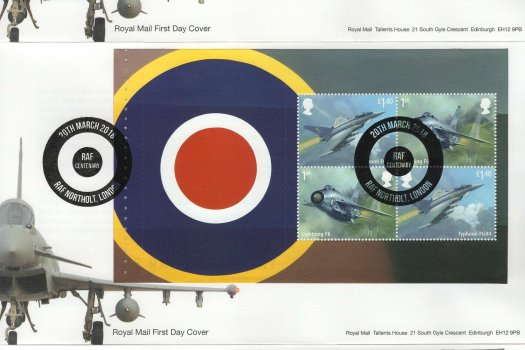 Royal Mail RAF PSB FDC image 1