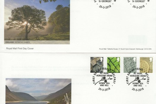 Royal Mail Regional Definitive (England & N Ireland) FDC