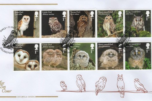 Cotswold Owls FDC