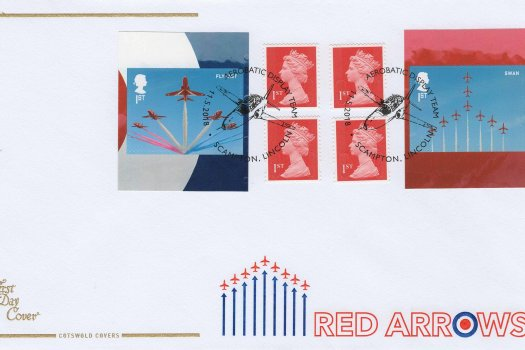 Cotswold Red Arrows Retail Booklet FDC