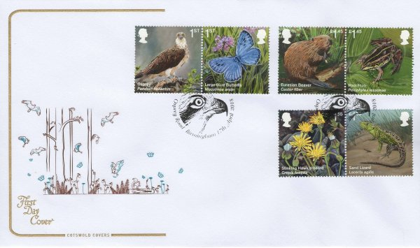 Cotswold Reintroduced Species FDC