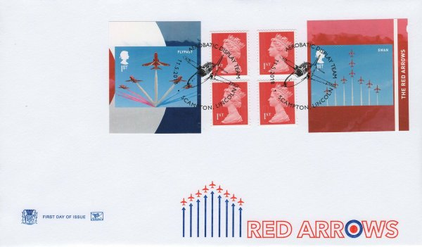 Stuart Red Arrows Retail Booklet FDC