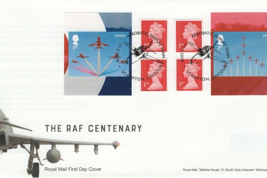 Royal Mail Red Arrows Retail Booklet FDC