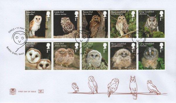 Stuart Owls FDC