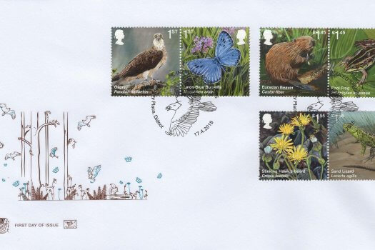 Stuart Reintroduced Species FDC
