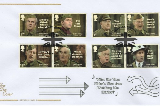 Cotswold Dad's Army FDC