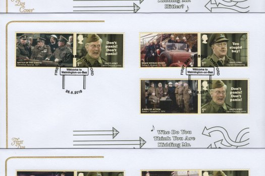 Cotswold Dad's Army Generic Sheet FDC