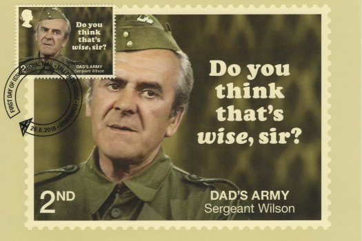Dad's Army Stamp Cards image 1