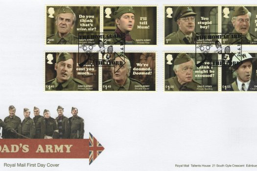 Royal Mail Dad's Army FDC