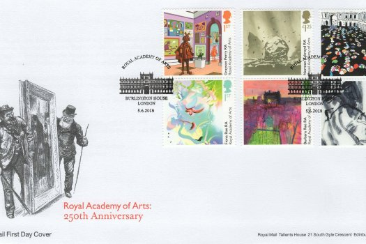 Royal Mail Royal Academy FDC