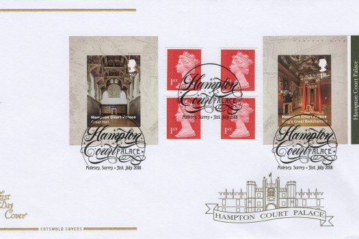 Cots Hampton Court Retail Booklet FDC