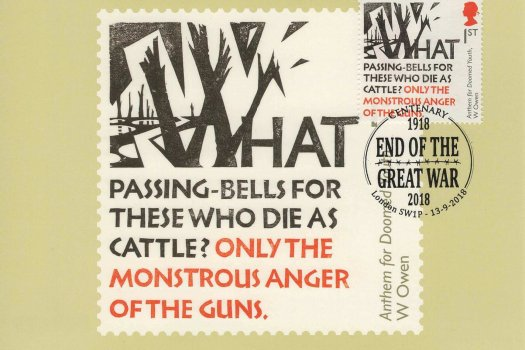 Great War 1918 Stamp Cards Front image 1